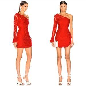 ALEXIS Tansy Lace Pattern Mini Dress